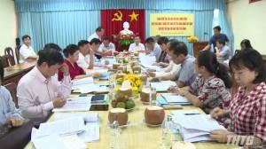 Thứ trưởng Bộ Kế hoạch và Đầu tư làm việc tại Tiền Giang