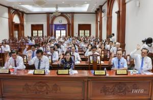 Bế mạc kỳ họp thứ 13 HĐND tỉnh Tiền Giang khoá IX