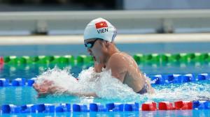 Ánh Viên giành 3 HCV trong ngày ra quân ở giải bơi VĐQG