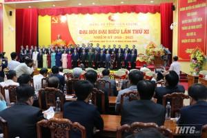 Đại hội Đảng bộ tỉnh Tiền Giang lần thứ XI ra mắt Ban Chấp hành và bế mạc