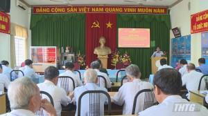 Hội Cựu chiến binh Tiền Giang sơ kết giữa nhiệm kỳ