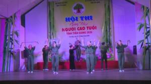 Khai mạc Hội thi tiếng hát Người cao tuổi tỉnh Tiền Giang