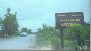 Xã Hưng Thạnh huyện Tân Phước ra mắt xã nông thôn mới