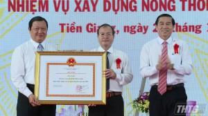 Công bố Thị xã Cai Lậy hoàn thành nhiệm vụ xây dựng nông thôn mới