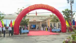 Xã Tân Đông, huyện Gò Công Đông ra mắt xã nông thôn mới nâng cao
