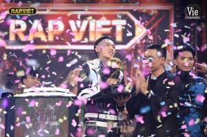 Dế Choắt trở thành quán quân đầu tiên của Rap Việt