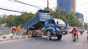 Đề nghị đảm bảo an toàn thi công công trình Công viên Tết Mậu Thân