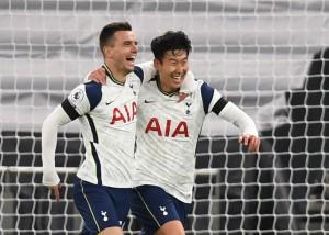 Son Heung-min lập công, Tottenham hạ Man City, lên đỉnh bảng Ngoại hạng Anh