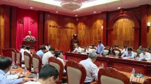 Bí thư Tỉnh uỷ Tiền Giang tiếp và làm việc với Thứ trưởng Bộ Ngoại giao