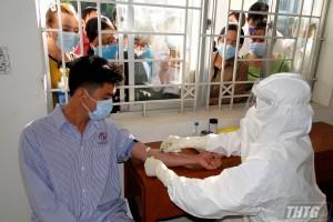 Ca F1 tại Tiền Giang đã cho kết quả âm tính với SARS-CoV-2
