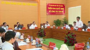 UBND tỉnh Tiền Giang họp thành viên tháng 12/2020