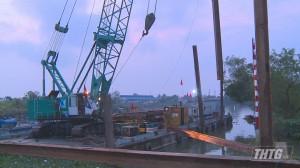 UBND tỉnh Tiền Giang ban hành Quyết định khẩn cấp đắp đập ngăn mặn, trữ ngọt