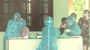 Bệnh nhân dương tính với Sars CoV-2 tại Tiền Giang sau khi nhập cảnh từ Đài Loan có kết quả âm tính lần 1