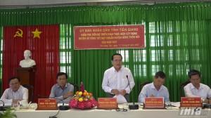 Gò Công Tây đạt 04/09 tiêu chí huyện nông thôn mới