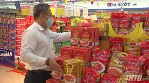 Co.opMart Thị xã Gò Công dự trữ trên 40 tỉ đồng hàng hóa phục vụ Tết Tân Sửu