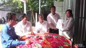 Châu Thành bàn giao nhà tình thương cho hộ nghèo