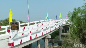 Huyện Cai Lậy khánh thành cầu Kinh Giữa Một Thước