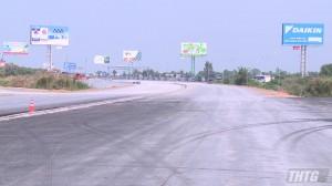 Các điều kiện thông tuyến cao tốc Trung Lương-Mỹ Thuận cơ bản hoàn thành