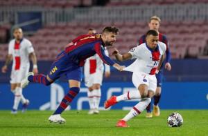 Mbappe thăng hoa với hat-trick, PSG vùi dập Barcelona tại Nou Camp
