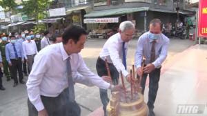 Thị xã Cai Lậy tổ chức lễ viếng nhân kỷ niệm 150 năm ngày mất Tứ Kiệt