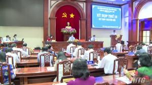 HĐND tỉnh Tiền Giang tổ chức kỳ họp chuyên đề