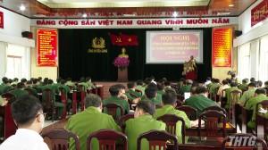 Công an tỉnh Tiền Giang triển khai đảm bảo an ninh trật tự cho công tác bầu cử