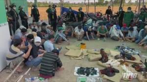 Công an và Biên phòng phối hợp triệt phá tụ điểm đá gà tại huyện Gò Công Đông