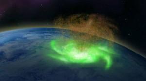 Siêu bão bí ẩn từ vũ trụ đi vào khí quyển Trái Đất