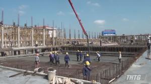Dự án khu thể thao dưới nước tỉnh Tiền Giang đạt 70% khối lượng xây dựng