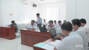 Đoàn công tác UBND tỉnh Tiền Giang tiếp xúc và đối thoại với các hộ khiếu nại kéo dài