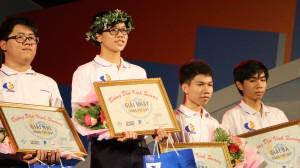 Nam sinh THPT Nguyễn Đình Chiểu giành chiến thắng cuộc thi Quý dù xuất phát thấp nhất