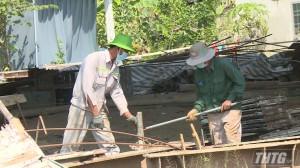 CDC Tiền Giang kiểm tra phòng chống Covid-19 tại công trường cao tốc Trung Lương – Mỹ Thuận