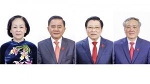 Phân công 4 đồng chí Ủy viên Bộ Chính trị tham gia Ban Bí thư