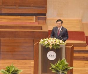 Chủ tịch Quốc hội Vương Đình Huệ: Tập trung cao độ hoàn thành nhiệm vụ phát triển năm 2021