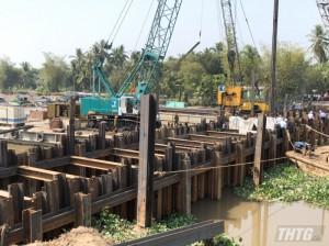 Tiền Giang triển khai tháo dỡ 08 đập thép ngăn mặn, trữ ngọt