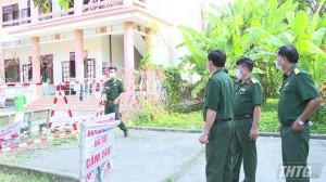Quân khu 9 kiểm tra khu cách ly tập trung phòng, chống dịch Covid-19 tại tỉnh Tiền Giang