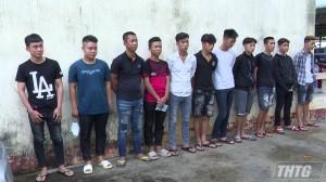 Bị từ chối tham gia trò chơi, nhóm thanh niên đập phá khu vui chơi trẻ em huyện Chợ Gạo
