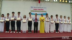 Trường THPT Nguyễn Đình Chiểu xếp hạng Nhất toàn đoàn kỳ thi Olympic 30/4