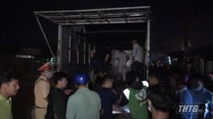 Công an Tiền Giang bắt giữ hàng chục đối tượng tụ tập đua xe trên Quốc lộ 50