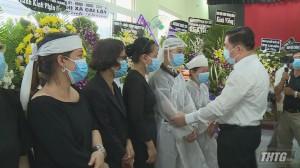 Trưởng Ban Tuyên giáo Trung ương đến chia buồn và dự lễ truy điệu đồng chí Nguyễn Thanh Hải