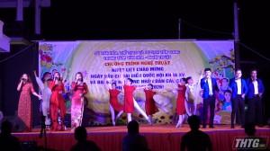 Trung tâm văn hóa – nghệ thuật tỉnh Tiền Giang biểu diễn văn nghệ tuyên truyền bầu cử