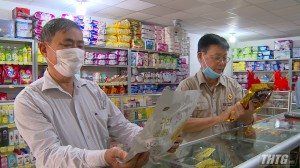 Hợp tác xã Vĩnh Kim đưa vào hoạt động Trung tâm bách hóa Song Thuận