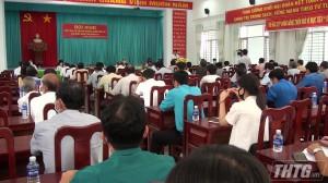 Bí thư Tỉnh uỷ Tiền Giang ứng cử ĐBQH tại đơn vị bầu cử số 1, gồm huyện Cái Bè, huyện Cai Lậy và Thị xã Cai Lậy