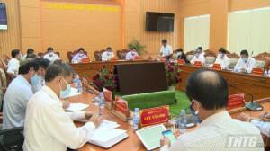 UBND tỉnh Tiền Giang họp thành viên và triển khai nhiệm vụ tháng 5-2021
