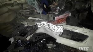 Tai nạn giao thông trên địa bàn huyện Cai Lậy, 02 người thương vong