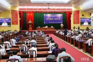 HĐND tỉnh Tiền Giang khóa X tổ chức Kỳ họp thứ nhất vào ngày 30/6/2021
