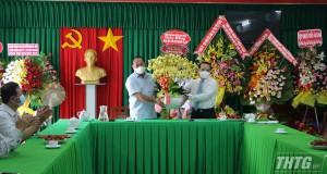 Lãnh đạo tỉnh Tiền Giang thăm và chúc mừng các cơ quan báo chí