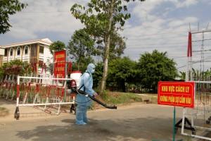 Thị xã Cai Lậy cách ly toàn bộ công nhân công ty Khang Hinh do có 1 người dương tính với SARS-CoV-2