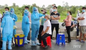 Tiền Giang tăng cường các biện pháp phòng chống dịch Covid-19 đối với người về từ vùng dịch