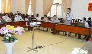 Tập huấn trực tuyến công tác phòng, chống Covid-19 cho doanh nghiệp trong khu, cụm công nghiệp